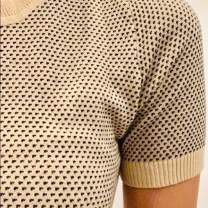 Calico for Urban Outfitters beige knitted top